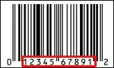 This is your product barcode